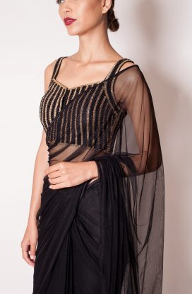 The Rhiyan Butterfly-net <span>Saree</span>